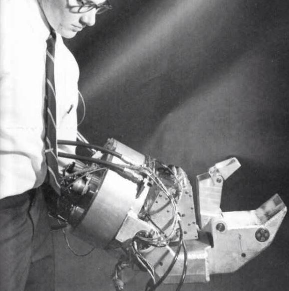 General Electric's robot hand (1967)
