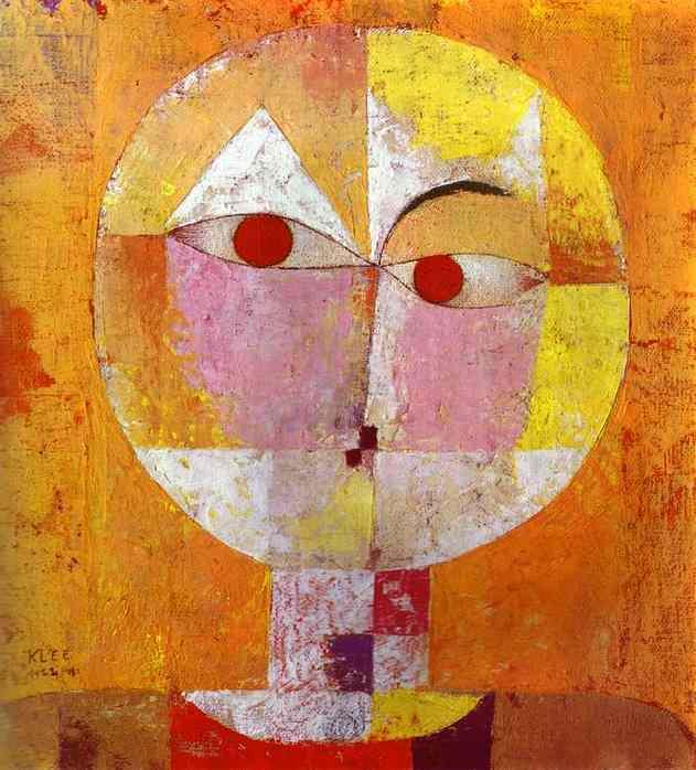 asymmetry (Klee: Senecio, 1922)